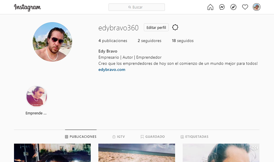 edy bravo instagram seguir