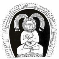 meditación maya bah am per cuerpo como araña