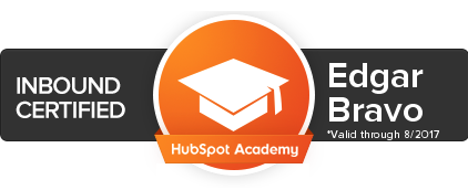 certificado inbound marketing hubspot